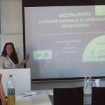 prezentáció előadóval