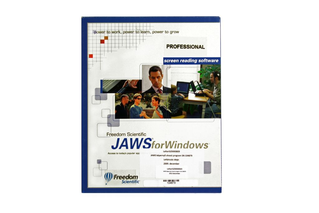 JAWS for Windows Professional 9.0